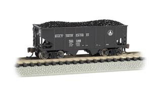 19556 N Scale Bachmann USRA 55-Ton 2-Bay Hopper-B & O #723046