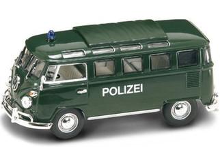 43210 O Scale Yat Ming 1962 Volkswagen Microbus Polizei