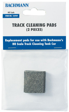 16949 HO Scale Bachmann Track Cleaning Pads (2 Pieces)