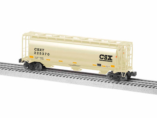 1919351 S Scale American Flyer CSX Cylindrical Hopper #225370