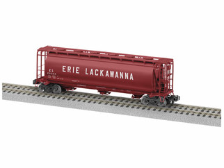 1919362 S Scale American Flyer Erie Lackawanna Cylindrical Hopper #20023