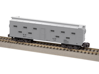 6-44027 S Scale American Flyer MOW Bunk Car #4027