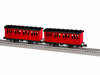 1928091 O Scale Lionel Thomas & Friends Branch Line Coaches 2-Pack