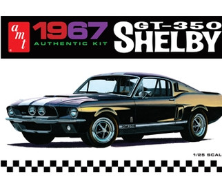 AMT800 AMT 1967 Shelby GT-350 1/25 Scale Plastic Model Kit