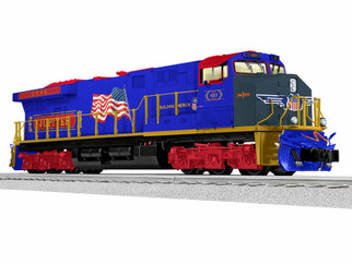1933327 O Scale Lionel Union Pacific Fantasy 60 Jupiter LEGACY ES44AC Locomotive #
