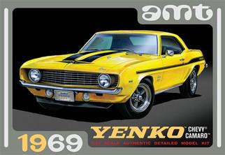 AMT1093 AMT 1969 Yenko Camaro 1/25 Scale Plastic Model Kit