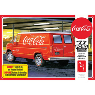 AMT1173 AMT '77 Ford Delivery Van Coca-Cola 1/25 Scale Plastic Model Kit