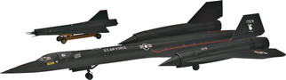 85-5810 Revell SR-71 Blackbird 1/72 Scale Plastic Model Kit