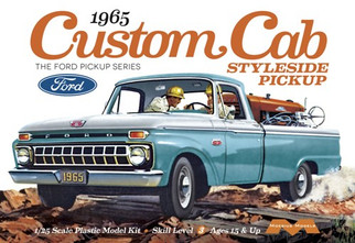 1234 Moebius 1965 Custom cab Styleside Pickup 1/25 Scale Plastic Model Kit