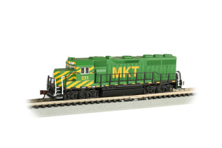 63570 N Scale Bachmann GP40 Locomotive-MKT #231