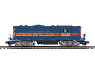 20-21106-1 O Scale MTH Premier GP-9 Diesel Engine w/ProtoSound 3.Maryland Midland Cab No. 200