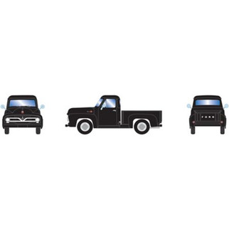 26440 HO Scale Athearn 1955 Ford F-100 Pickup Black