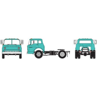 11000A HO Scale Athearn RTR Ford C Tractor-Teal