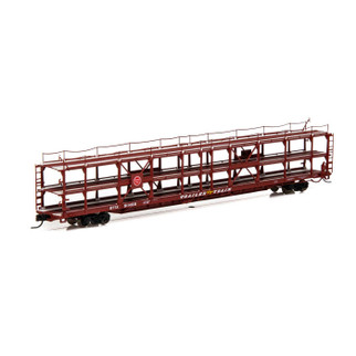 14408 N Scale Athearn F89-F Tri-Level Auto Rack-MP/T&P #911468