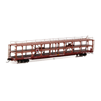 14410 N Scale Athearn F89-F Tri-Level Auto Rack-NP/RTTX #911809