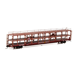 14411 N Scale Athearn F89-F Tri-Level Auto Rack-NP/RTTX #911809