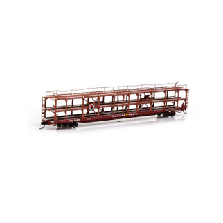 14412 N Scale Athearn F89-F Tri-Level Auto Rack-NP/RTTX #911856