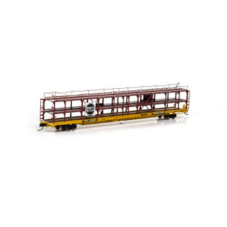 14413 N Scale Athearn F89-F Tri-Level Auto Rack-N&W/RTTX #913049