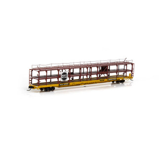 14414 N Scale Athearn F89-F Tri-Level Auto Rack-N&W/RTTX #913075