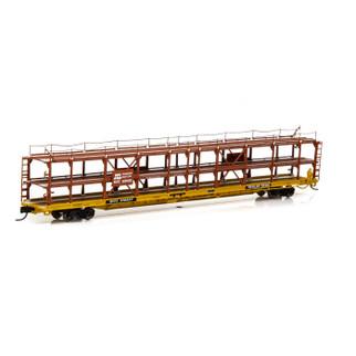 14416 N Scale Athearn F89-F Tri-Level Auto Rack-SCL/RTTX #910627
