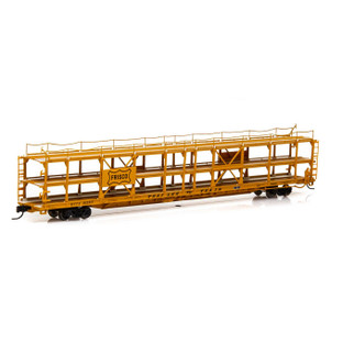 14420 N Scale Athearn F89-F Tri-Level Auto Rack-Frisco/RTTX #912317