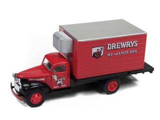 30518 HO Scale Classic Metal Works 1941-46 Chevrolet Reefer Truck-Drewrys Beer