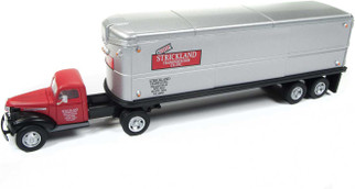 31176 HO Scale Athearn 1944-46 Chevy Tractor/Trailer-Strickland