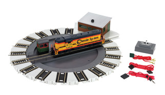 46298 HO Scale Bachmann DCC-Equipped Turntable