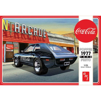 AMT1166M AMT 77' Ford Pinto Popper-Coca Cola 1/25 Scale Plastic Model Kit