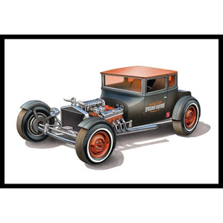 AMT1167 AMT 1925 Ford Model T Chopped T 1/25 Scale Plastic Model Kit