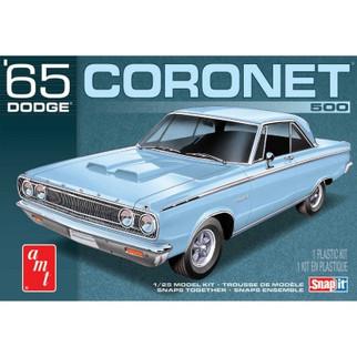 AMT1176M AMT '65 Dodge Coronet 500 Snap-It 1/25 Scale Plastic Model Kit