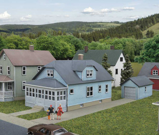 933-3889 N Scale Walthers Cornerstone American Bungalow Kit