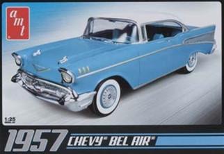AMT638 1957 Chevrolet Bel Air 1/25 Scale Plastic Model Kit