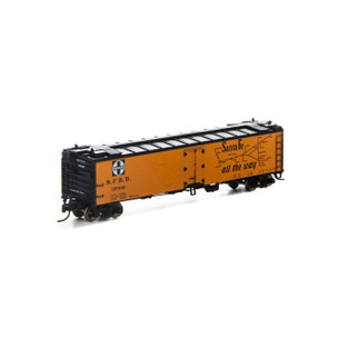 7256 N Scale Athearn 50' Ice Bunker Reefer-SF #37302