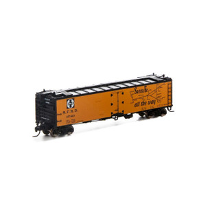 7257 N Scale Athearn 50' Ice Bunker Reefer-SF #37323