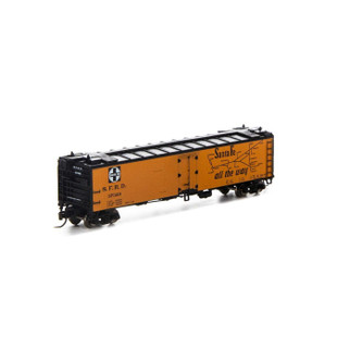 7258 N Scale Athearn 50' Ice Bunker Reefer-SF #37329