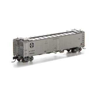 7267 N Scale Athearn 50' Ice Bunker Reefer-SF/MOW #188502