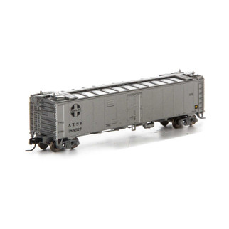 7268 N Scale Athearn 50' Ice Bunker Reefer-SF/MOW #188527