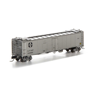 7269 N Scale Athearn 50' Ice Bunker Reefer-SF/MOW #188555