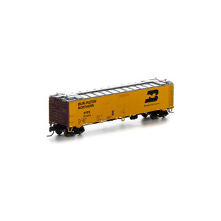 7296 N Scale Athearn 50' Ice Bunker Reefer-WFE/BN #705344