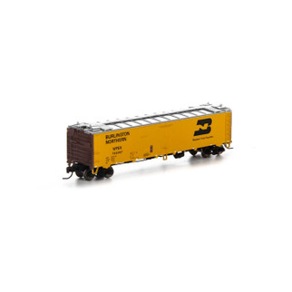 7297 N Scale Athearn 50' Ice Bunker Reefer-WFE/BN #705357