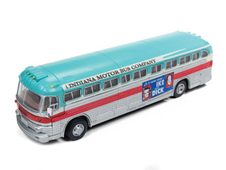 32314 HO Scale Classic Metal Works GMC PD-4103 Intercity Bus-Eisenhower Campaign