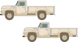 50405 N Scale Classic Metal Works 1954 Picup Truck-Sandstone White (2)
