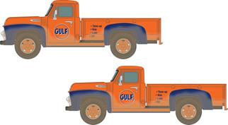 50406 N Scale Classic Metal Works 1954 Pickup Truck-Gulf Oil