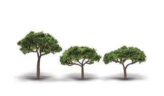 "32509 N, HO, O Scale Woodland Scenics Woodland Classics Canopy Trees-3 Pcs 2""-3 1/2"""