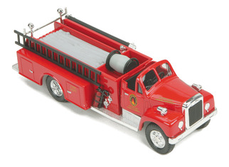 30-50103 O Scale MTH RailKing Die-Cast Fire Truck-Cleveland Union Terminal