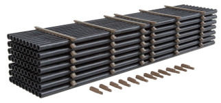 933-3250 HO Scale Walthers SceneMaster Pipe Load