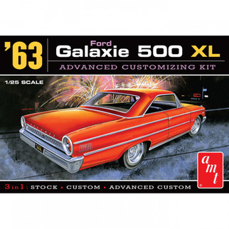 AMT1186 AMT '63 Ford Galaxie 500 XL 1/25 Scale Plastic Model Kit