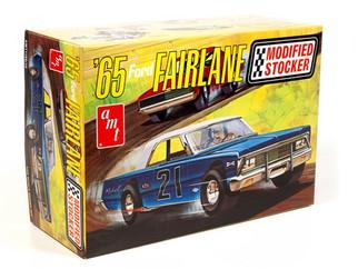 AMT1190 AMT '65 Ford Fairlane Modified Stocker 1/25 Scale Plastic Model Kit