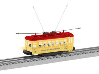 2035050 O Scale Lionel Lionelville Trolley